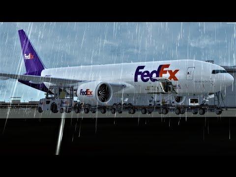 [P3D][V4.1] Atlanta to Miami with the PMDG777F