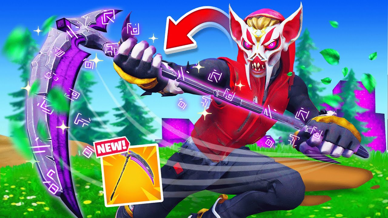 The *IMPOSSIBLE* SCYTHE ONLY Challenge (Fortnite)