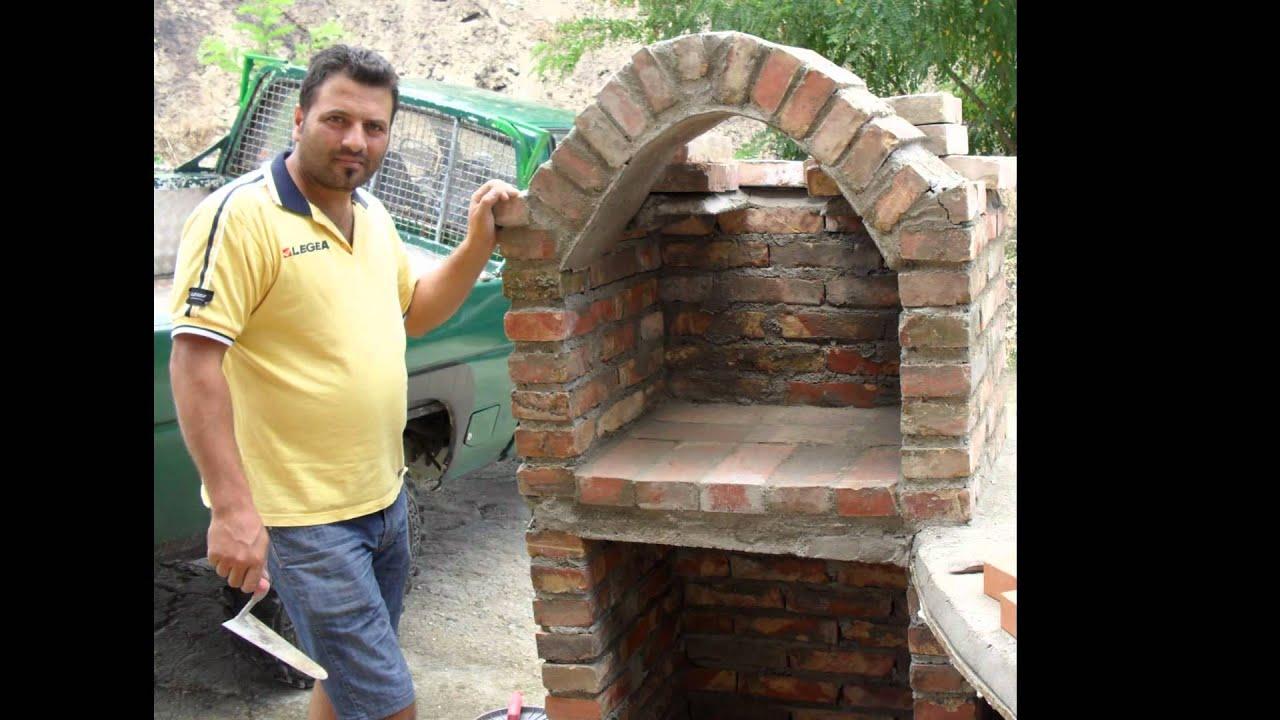 Come costruire un forno con barbecue  YouTube