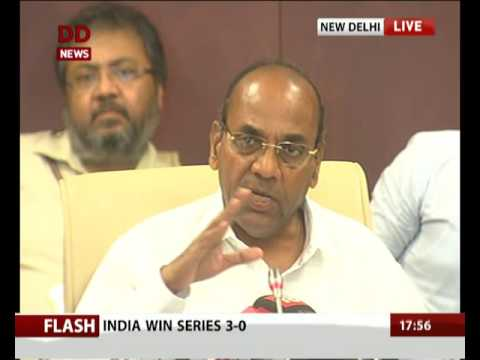 Heavy Industries Minister briefs media on completion of 2-years of Modi govt