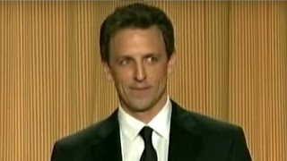 Seth Meyers Slams Donald Trump At White House Correspondents' Dinner!