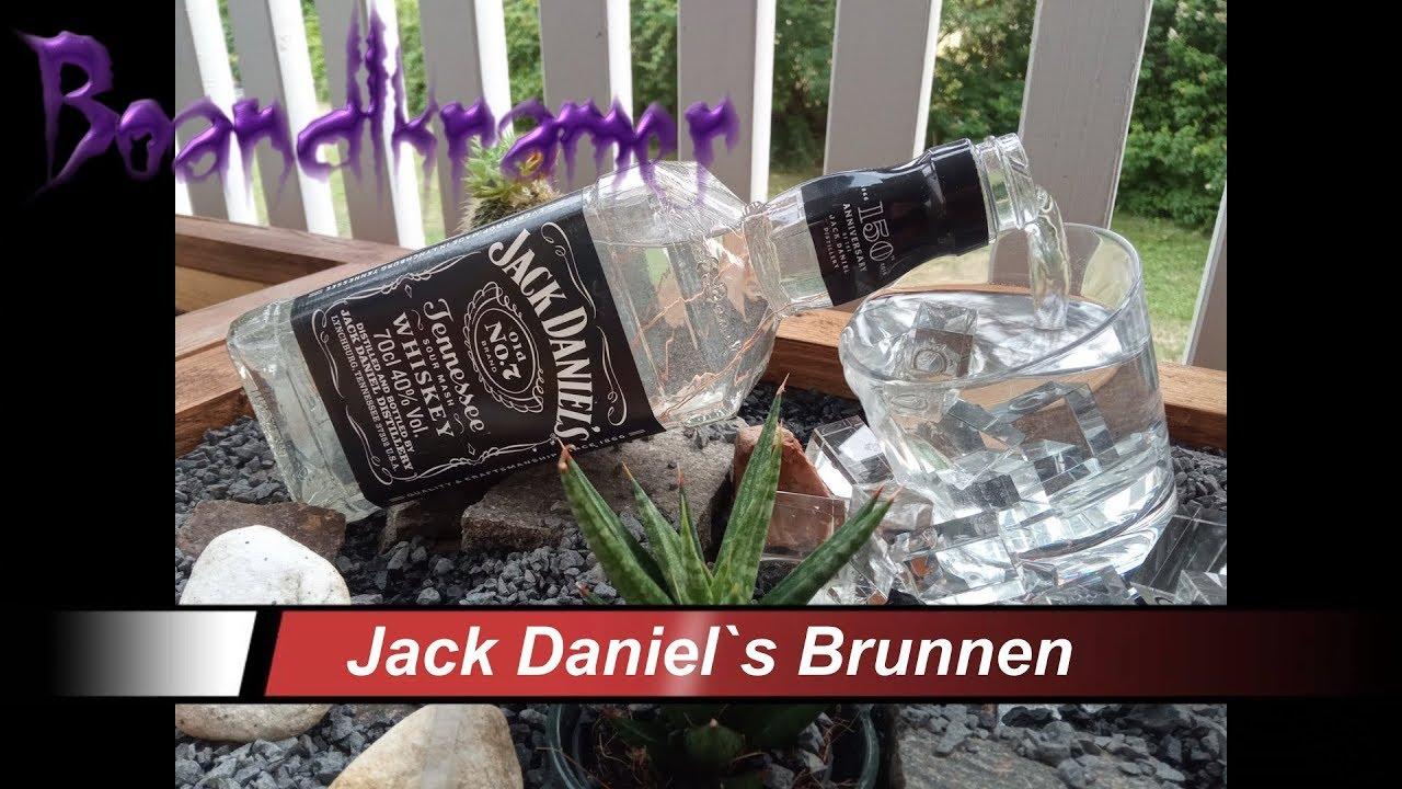 JACK DANIEL`S LED Terrassenbrunnen Zimmerbrunnen Selber Bauen