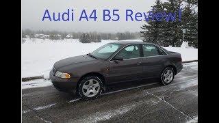 1997 Audi A4 B5 2.8 Review, drive, acceleration!