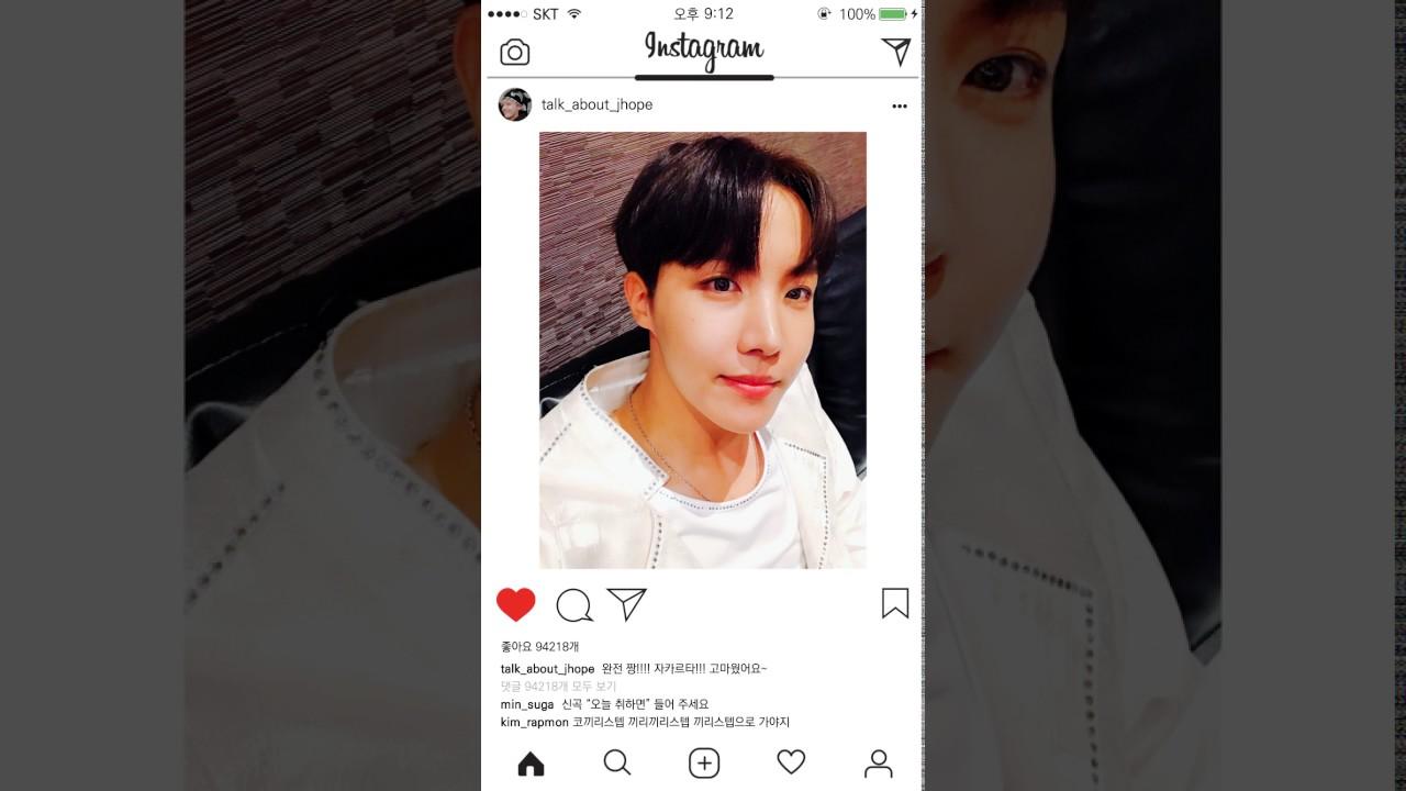 Instagram J Hope Ver Youtube