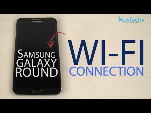 Samsung Galaxy Round Wi-Fi connection