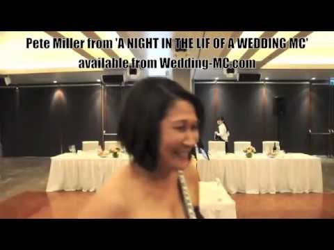 MC TIPS Amazing Wedding Entrance Watch The Funny Emcee Intro Bridal Party Wow Hilarious