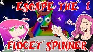 Sofi og Kitty pé eventyr i Roblox: Entkomme dem Fidget Spinner! Pt. 1