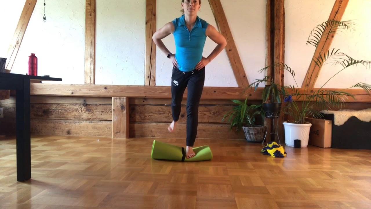 Fitness mit der Yogamatte und Körpereigengewicht 20.5.20