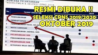 Bkn Resmi Umumkan Jadwal Seleksi Cpns 2019andamp2020 Bulan Oktober.