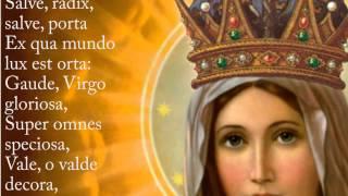 Ave Regina Caelorum Hymn with Lyrics - Latin