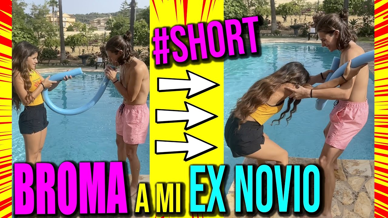 BROMA A MI EX NOVIO 😈 CON FINAL INESPERADO  #shorts