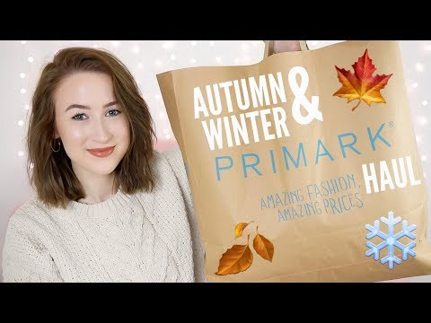 AUTUMN & WINTER PRIMARK HAUL 2018 (TRY ON)   Sophie Louise