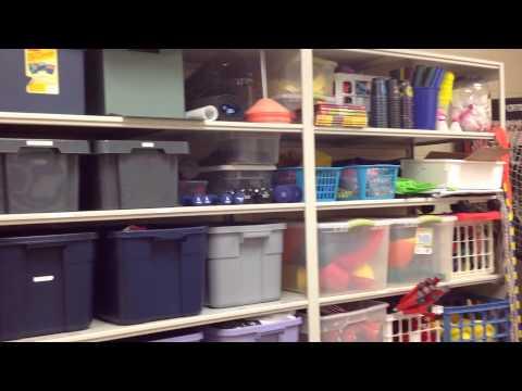 My PE Equipment Room & Office