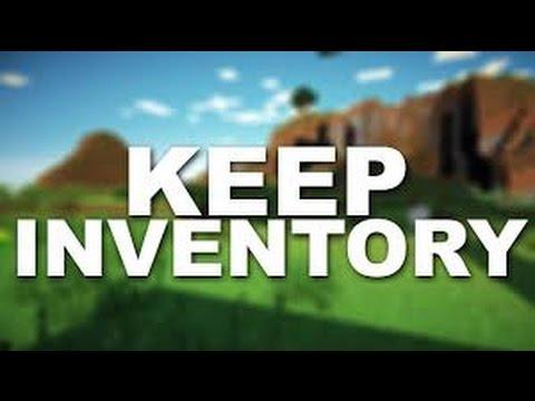 gamerule keep inventory