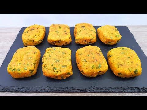 Prueba estas deliciosas TORTITAS DE LENTEJAS! | Receta fácil con MyCook #100