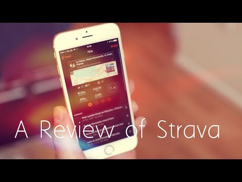A Review Of Strava, The Essential Cycling Fitness App.