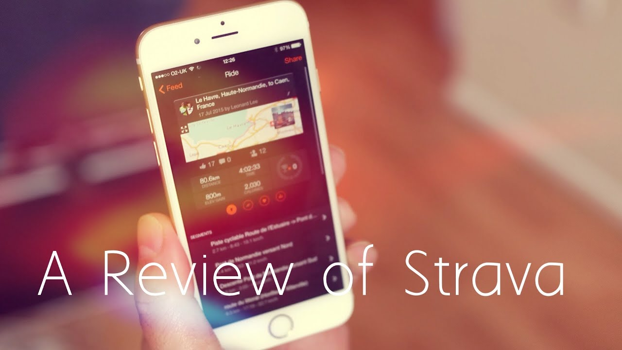 A Review Of Strava, The Essential Cycling Fitness App