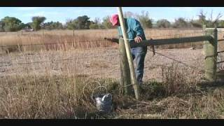 How To Build A Wire Fence Gate