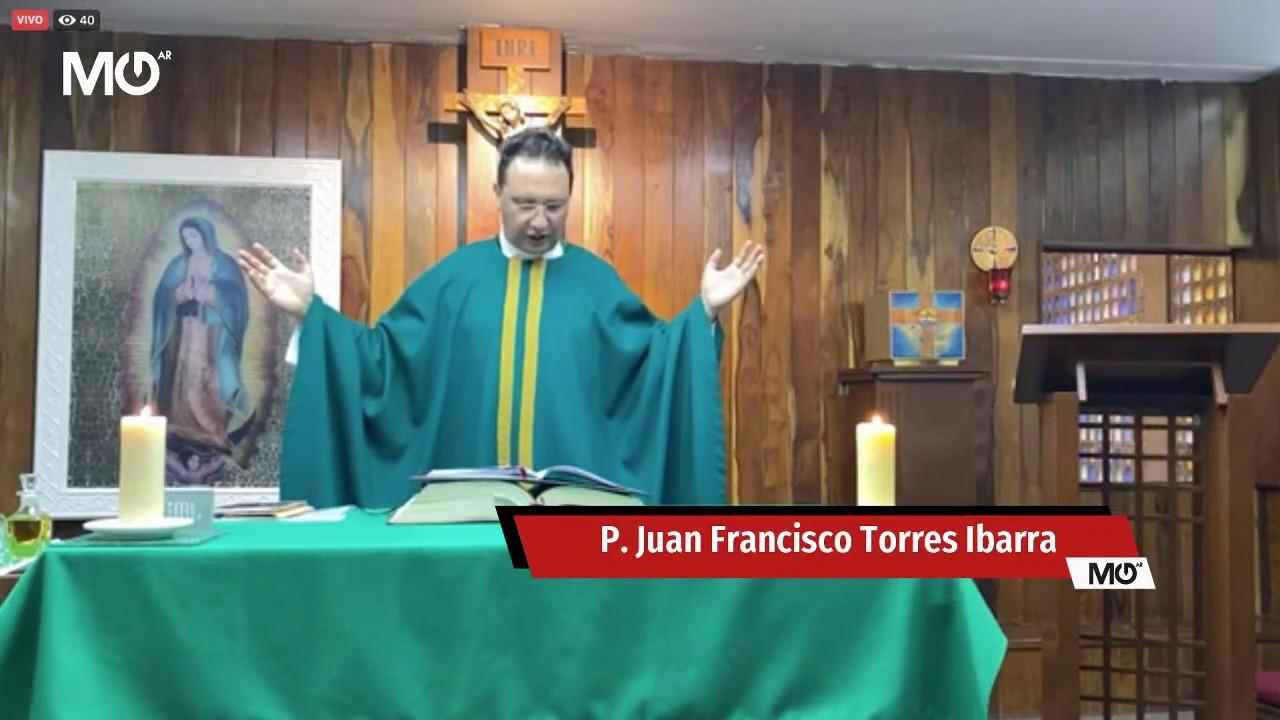 Misa en vivo con el P. Juan F. Torres Ibarra, MG | 1 julio 2020