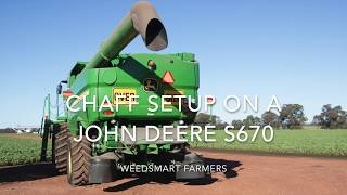 Video WS John Deere header and chaff deck setup download MP3, 3GP, MP4, WEBM, AVI, FLV November 2017
