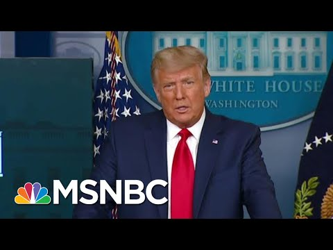 Self-Own? Trump's Talk Of A Self-Pardon Stokes Tough Questions | The Beat With Ari Melber | MSNBC