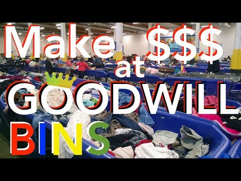 TOP 9 TIPS & TRICKS to Make Money at THE GOODWILL BINS Outlet ~ Selling on eBay 2017