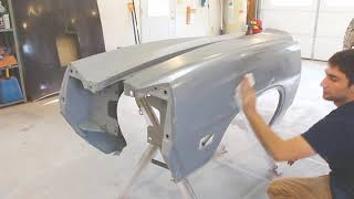 Autobody Prep/paint  fenders!!