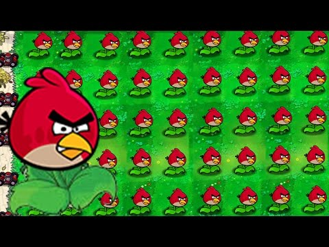 Plants vs Zombies vs Angry Birds: Team Angry Birds vs Zombies!
