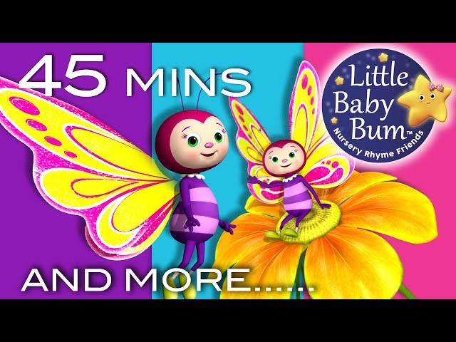 Little Baby Bum   Butterfly Song   Nursery Rhymes for Babies   Songs for Kids