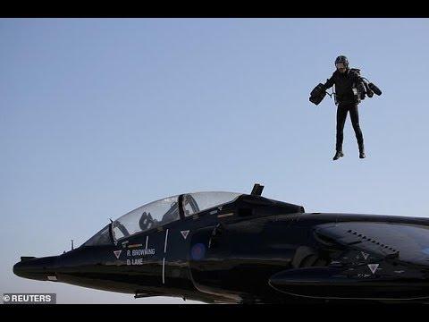Iron Man style jet suit racing to take flight in 2019