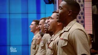 The Marine Audience Sings the Marines' Hymn