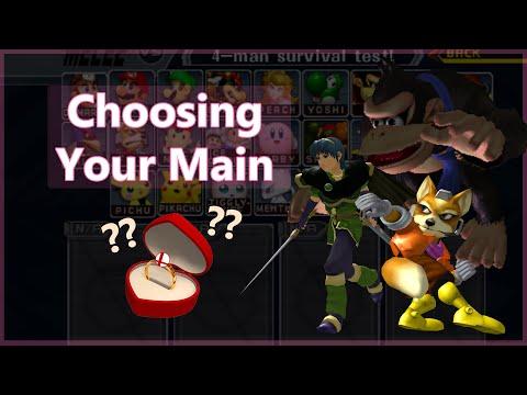 Choosing Your Main