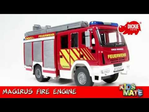 Dickie Toys - Fire Engine - YouTube - 21.7KB