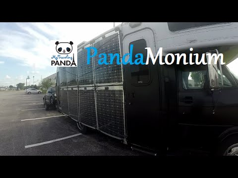 RV Living Vlog: Pensacola to Mobile, Alabama & 2 Overnight Parking Spots