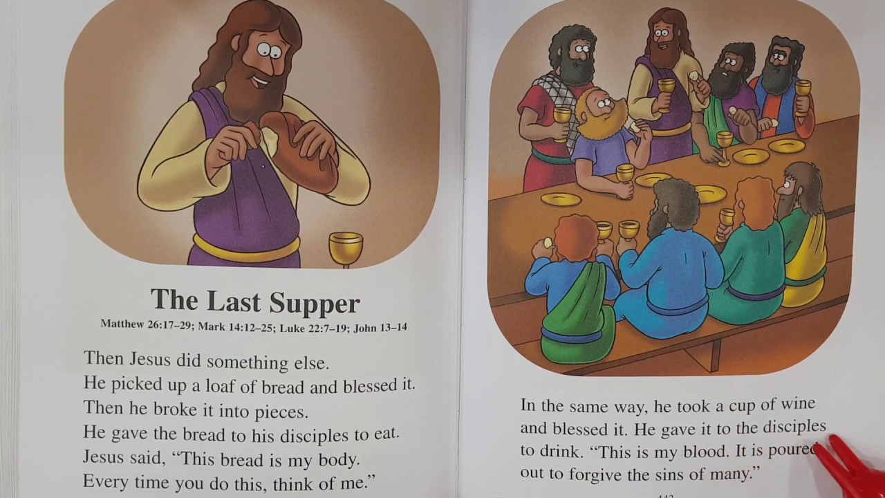 81  The Last Supper - The Beginner's Bible Read-Along