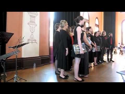 The Sydney Madrigal Society Choir 2014 - Sing we now merrily, Thomas Ravenscroft