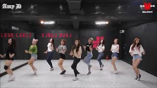 MOMOLAND 'Freeze' Mirrored Dance Practice
