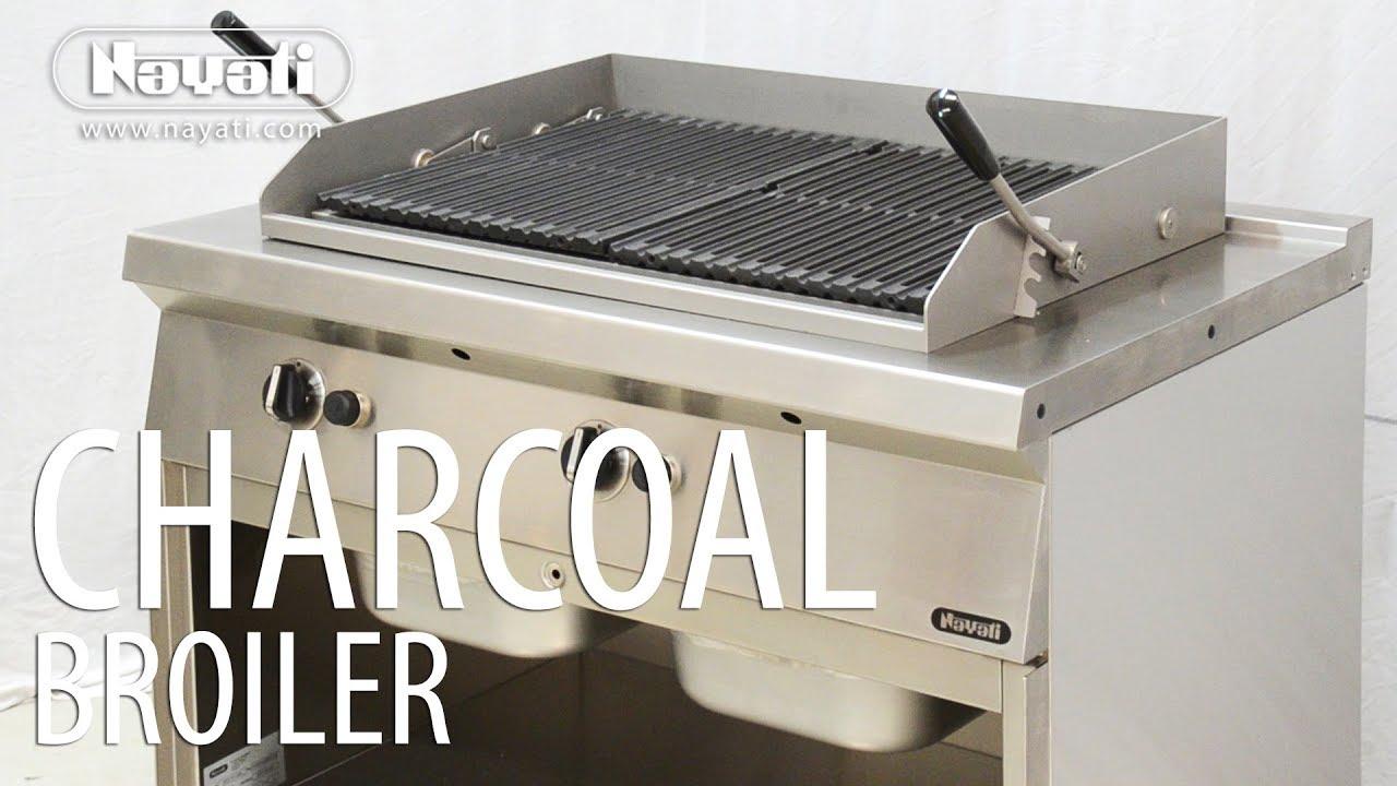 Nayati Charcoal Broiler : Grilled Fish - YouTube