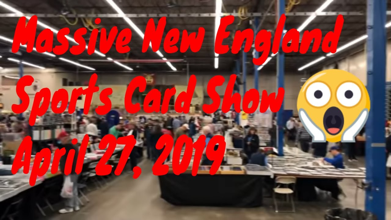 Rich Altmans Sports Card Show 2019 Many Youtuber Guest Appearances
