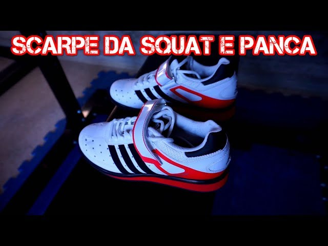 QUALI SCARPE DA POWERLIFTING: SQUAT E PANCA | ADIDAS POWER PERFECT II