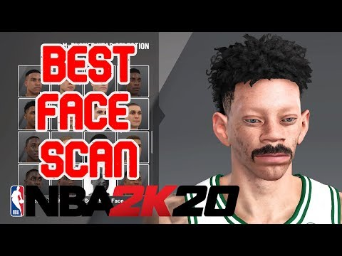 NBA 2K20 BEST CHEESER FACE SCAN! HOW TO LOOK LIKE A DRIBBLE/SNAG GOD IN NBA 2K20!