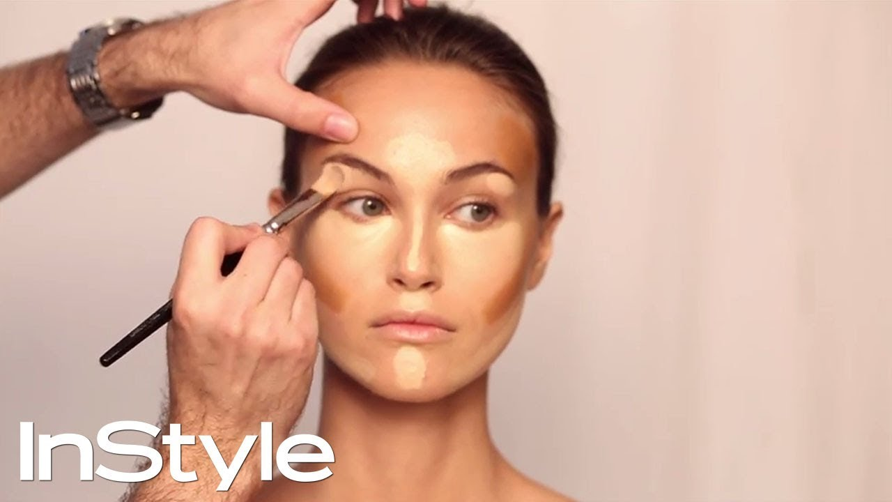 How to contour your face in 5 easy steps makeup tutorial how to contour your face in 5 easy steps makeup tutorial instyle youtube baditri Gallery