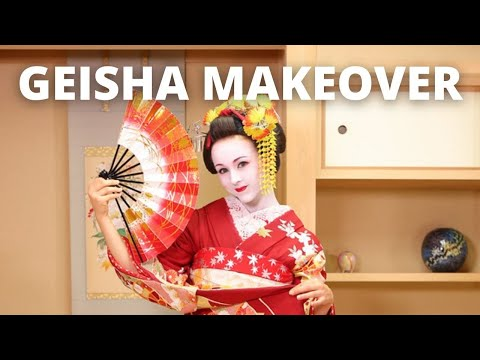 MAIKO MAKEOVER // Kyoto