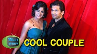 Star Parivaar Awards 2014 - Aakash - Poonam | Cool Couple At Cool Carpet