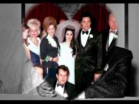 Elvis and Priscilla Presley-wedding-May 1, 1967, Las Vegas