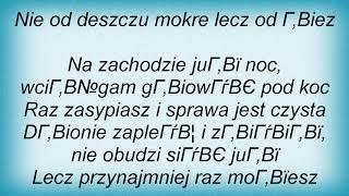 Grzegorz Turnau - Bracka Lyrics