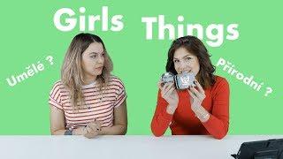 GIRLS THINGS: ŘASY - UMĚLÉ NEBO PŘÍRODNÍ ?