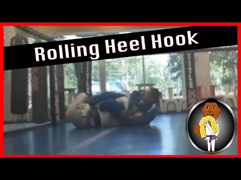 BJJ Roll No.105 - Rolling Heel Hooks w Coach Smiley at Smiley Academy
