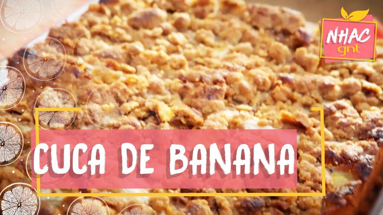 receita cuca de banana