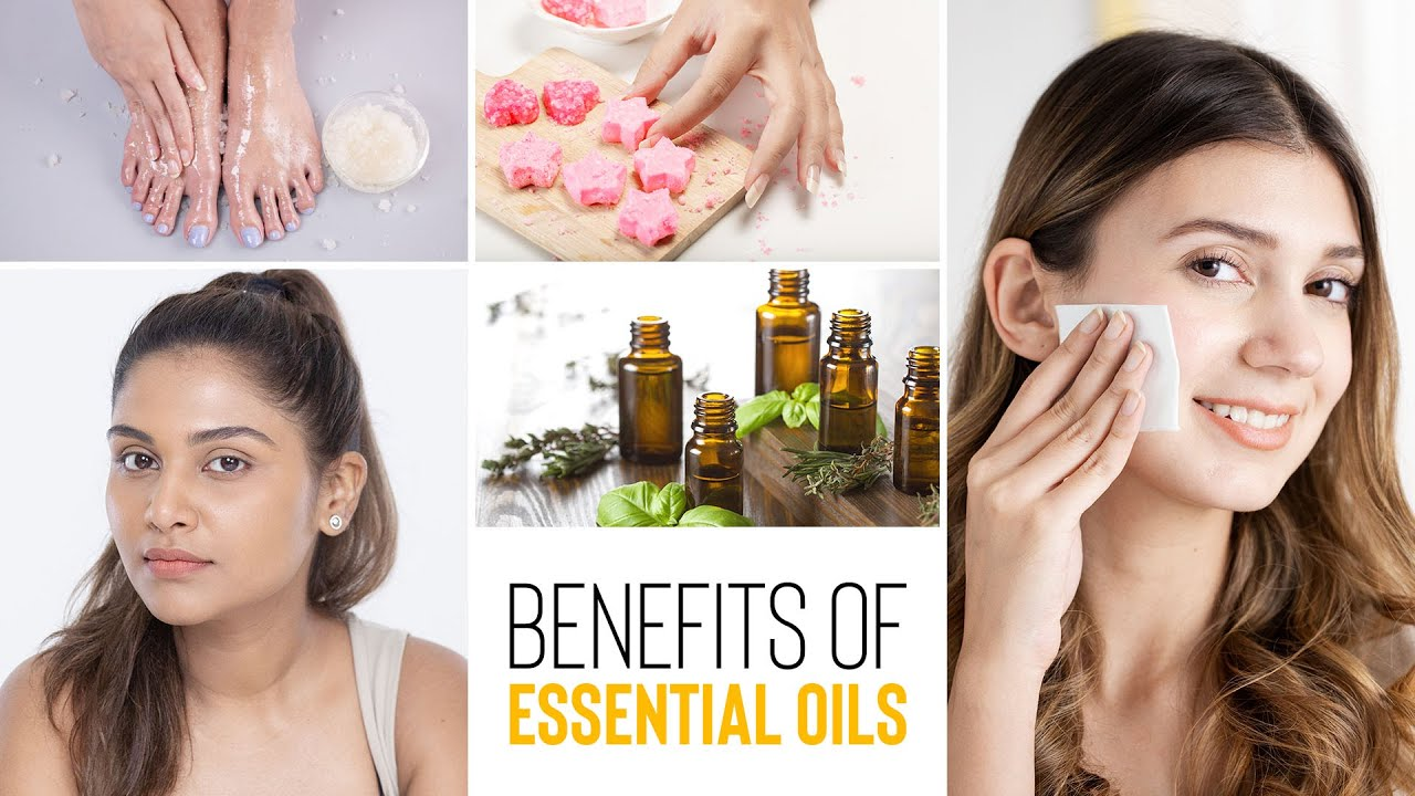How To Use Essential Oils For Acne, Glowing Skin & Soft Hands & Feet    Glamrs Skin Care